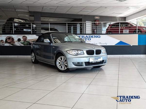 2010 BMW 1 Series 120i Convertible At  Gauteng Pretoria_0
