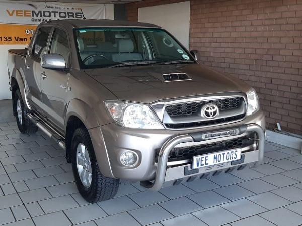 2011 Toyota Hilux 3.0d-4d Raider Rb At Pu Dc  Gauteng Edenvale_0