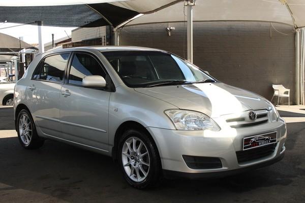 2007 Toyota RunX 140i Sport  Gauteng Johannesburg_0