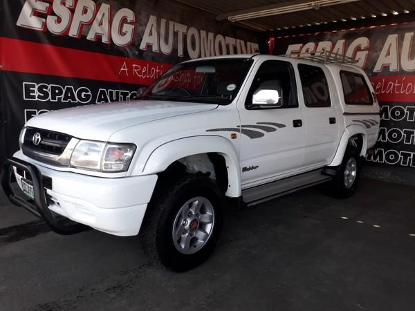 2003 Toyota Hilux 2700i Raider 4x4 Pu Dc  Gauteng Pretoria_0