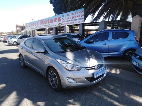 2013 Hyundai Elantra 1.6 Gls  Gauteng Kempton Park_0