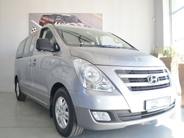 2017 Hyundai H1 2.5 CRDI Wagon Auto Free State Bloemfontein_0