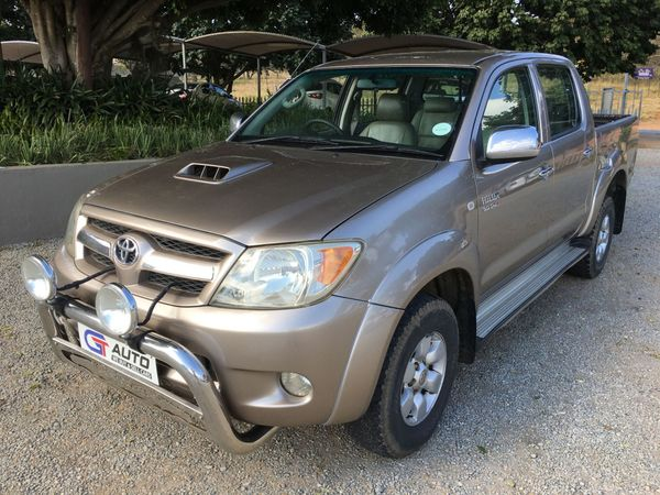 2008 Toyota Hilux 3.0 D-4d Raider Rb Pu Dc  Mpumalanga White River_0