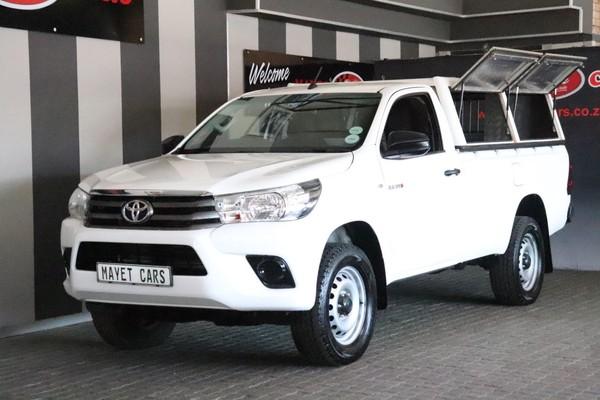 2017 Toyota Hilux 2.4 GD-6 SR 4X4 Single Cab Bakkie Mpumalanga Delmas_0