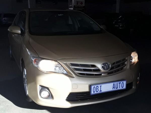2013 Toyota Corolla 1.6 Professional  Gauteng Johannesburg_0