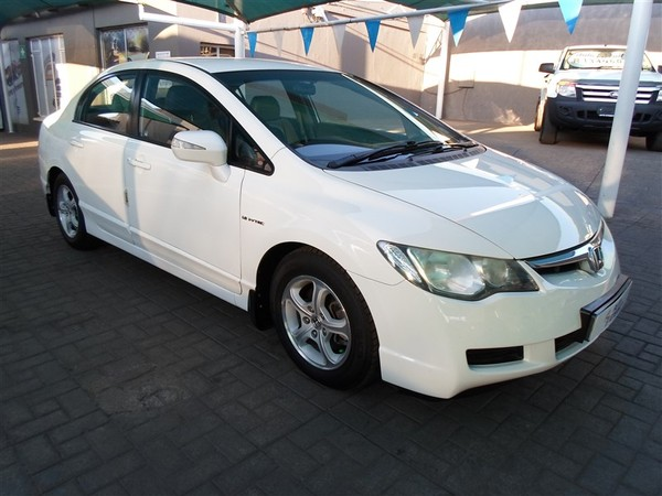 2008 Honda Civic 1.8 Exi At  Gauteng Alberton_0