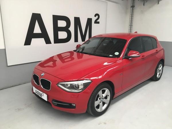 2015 BMW 1 Series 120d Sport Line 5dr At f20  Gauteng Midrand_0