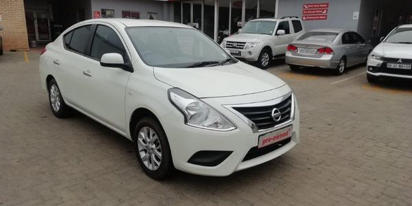 2018 Nissan Almera 1.5 Acenta Auto Gauteng Boksburg_0