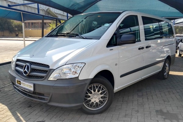 2012 Mercedes-Benz Vito 116 Cdi Crewbus  North West Province Potchefstroom_0