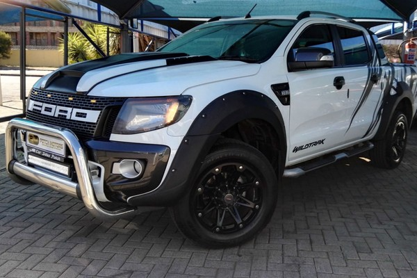 2014 Ford Ranger 3.2TDCi Wildtrak 4x4 Auto Double cab bakkie North West Province Potchefstroom_0