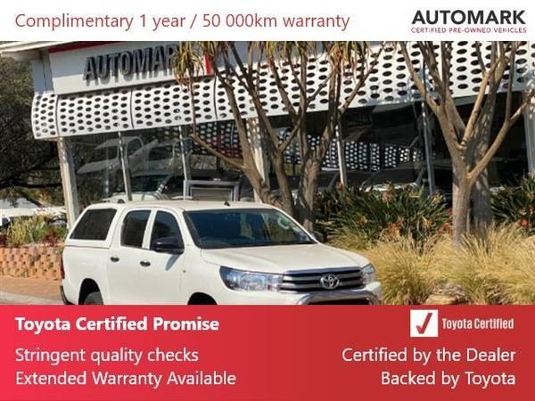 2016 Toyota Hilux 2.7 VVTi RB SRX Double Cab Bakkie Gauteng North Riding_0