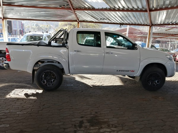 2012 Toyota Hilux 3.0 D-4D LEGEND 45 4X4 Double Cab Bakkie Gauteng Jeppestown_0