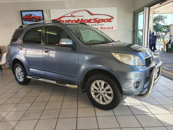 2012 Daihatsu Terios 7 Seat At  Western Cape Parow_0