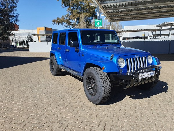 2016 Jeep Wrangler Unlimited 3.6l V6 At  Free State Bloemfontein_0