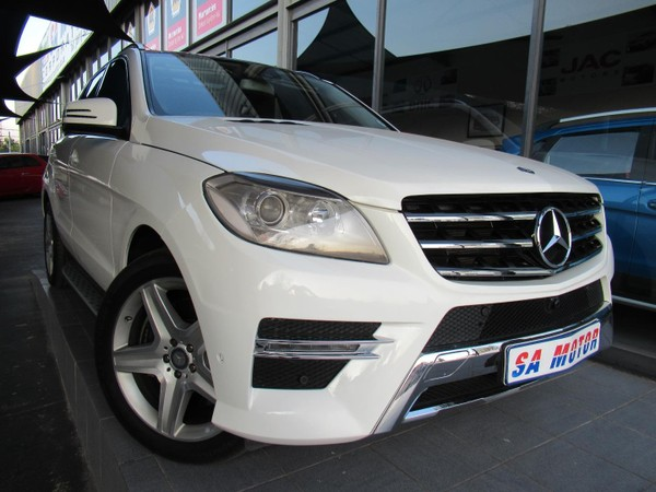 2014 Mercedes-Benz M-Class ML 400 BE Gauteng Randburg_0