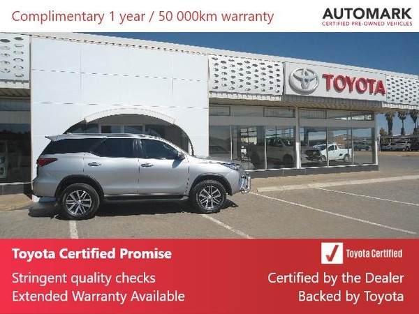 2018 Toyota Fortuner 2.8GD-6 4X4 Auto Northern Cape Hartswater_0