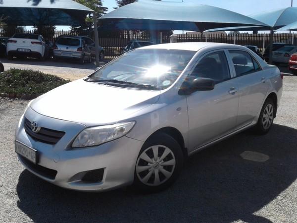 2009 Toyota Corolla 1.3 Professional  Gauteng Roodepoort_0