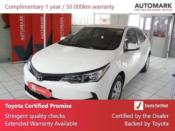 2020 Toyota Corolla Quest 1.8 Free State Welkom_0