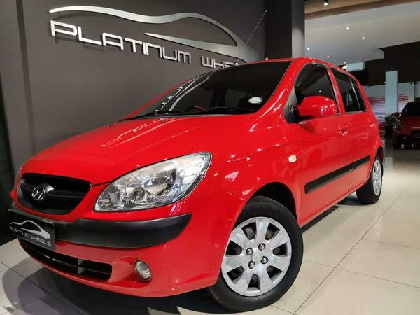 2010 Hyundai Getz 1.4 Hs  Gauteng Four Ways_0