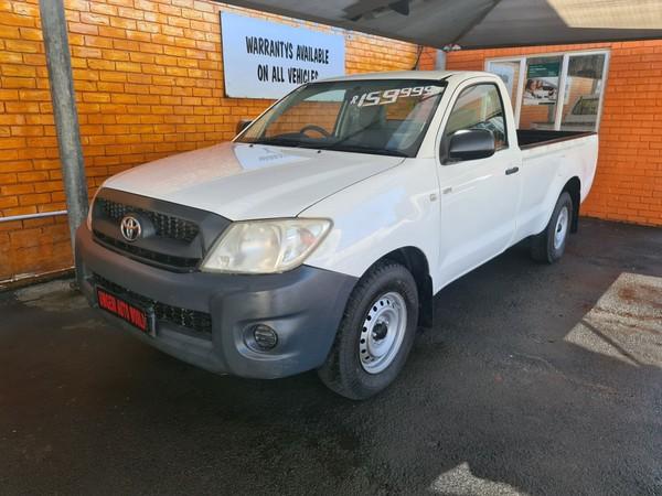 2010 Toyota Hilux 2.0 Vvti Pu Sc  Kwazulu Natal Durban_0