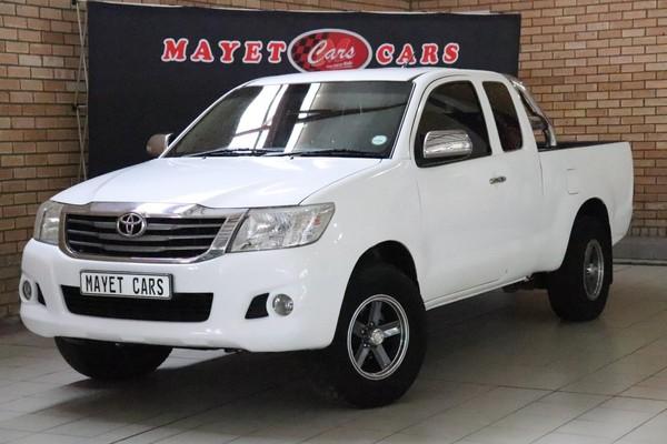 2012 Toyota Hilux 2.5 D-4d Srx Xtra Cab Pu Sc  Mpumalanga Delmas_0