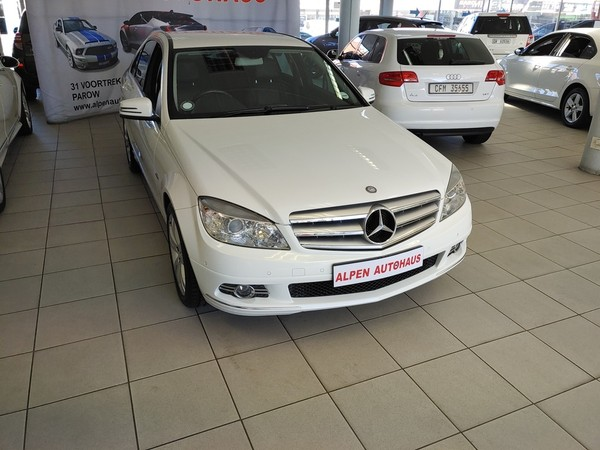 2010 Mercedes-Benz C-Class C220 Cdi Classic At  Western Cape Parow_0