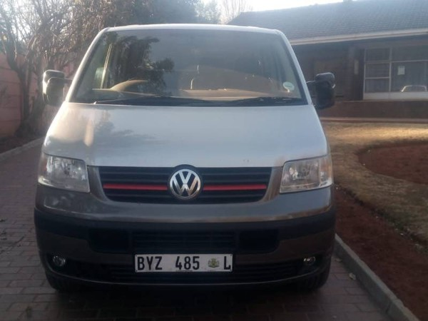 2006 Volkswagen Transporter Panel Van 1.9tdi Fc Pv  Gauteng Randburg_0