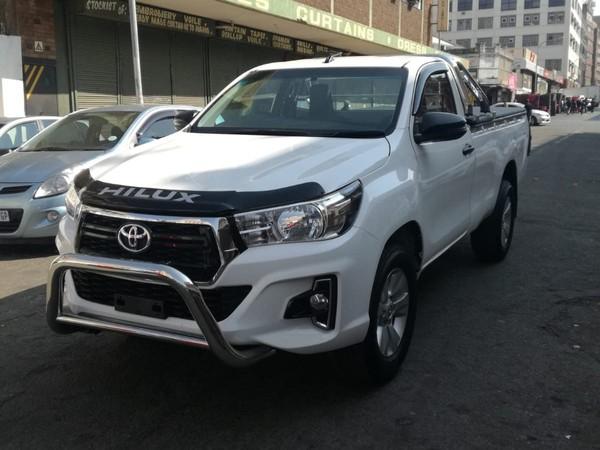 2018 Toyota Hilux 2.4 GD AC Single Cab Bakkie Gauteng Johannesburg_0