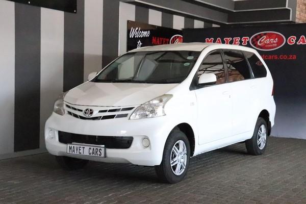 2015 Toyota Avanza 1.3 Sx  Mpumalanga Delmas_0