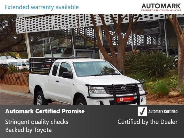 2015 Toyota Hilux 2.5 D-4D RB SRX PU XTRA CAB Gauteng North Riding_0
