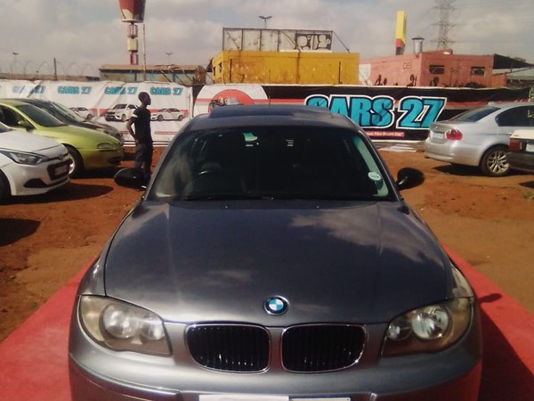 2009 BMW 1 Series 116i e87  Gauteng Alrode_0