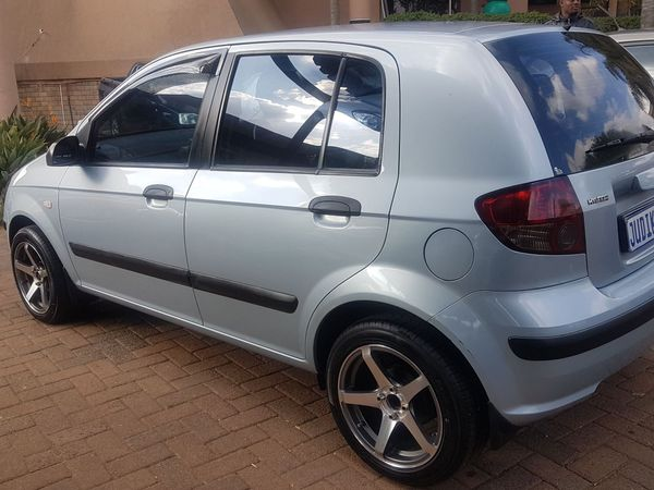 2006 Hyundai Getz 1.6 Hs  Gauteng Johannesburg_0