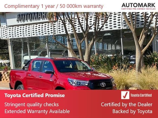 2020 Toyota Hilux 2.8 GD-6 Raider 4X4 Auto Double Cab Bakkie Gauteng North Riding_0