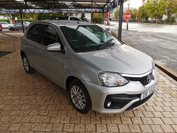 2017 Toyota Etios 1.5 Xs 5dr  Western Cape Robertson_0