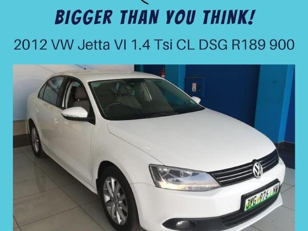 2012 Volkswagen Jetta Vi 1.4 Tsi Comfortline Dsg  North West Province Klerksdorp_0