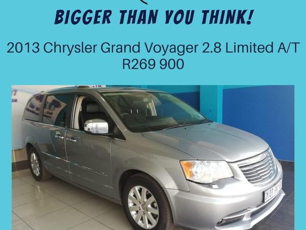 2013 Chrysler Grand Voyager 2.8 Limited At  North West Province Klerksdorp_0