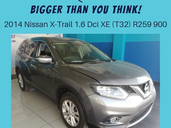 2014 Nissan X-Trail 1.6dCi XE T32 North West Province Klerksdorp_0