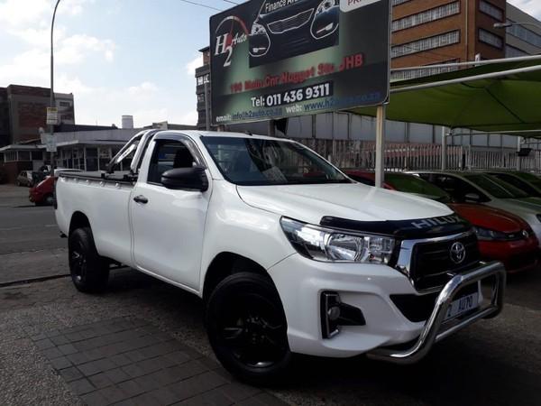 2018 Toyota Hilux 2.4 GD AC SC CC Gauteng Johannesburg_0