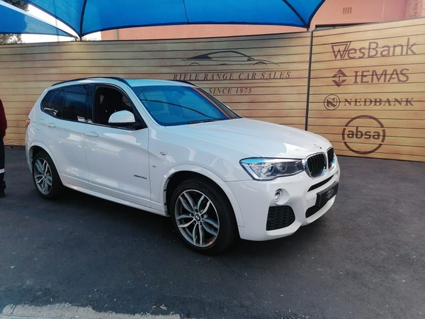 2014 BMW X3 Xdrive20d  M-sport At  Gauteng Rosettenville_0