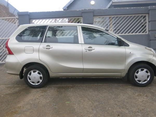 2015 Toyota Avanza 1.5 Sx  Gauteng Rosettenville_0