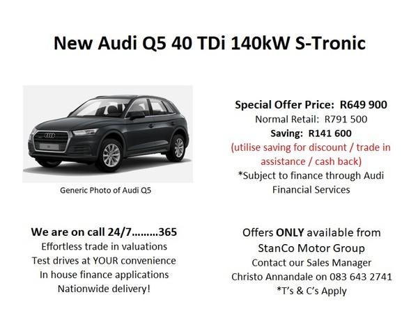 2020 Audi Q5 2.0 TDI Quattro Stronic Mpumalanga Standerton_0