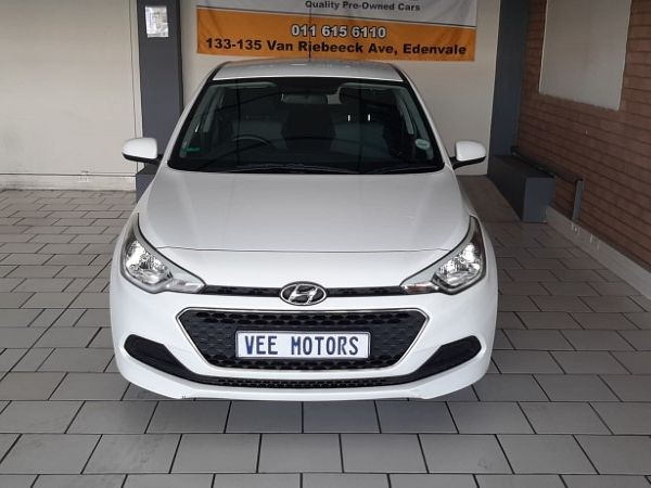 2016 Hyundai i20 1.2 Motion  Gauteng Edenvale_0