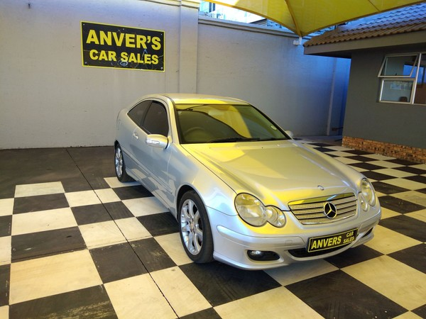 2008 Mercedes-Benz C-Class C230 V6 Coupe At  Gauteng Lenasia_0
