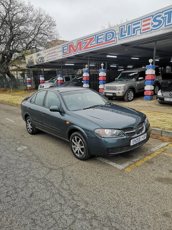 2006 Nissan Almera 1.6 Luxury At h1627  Gauteng Benoni_0