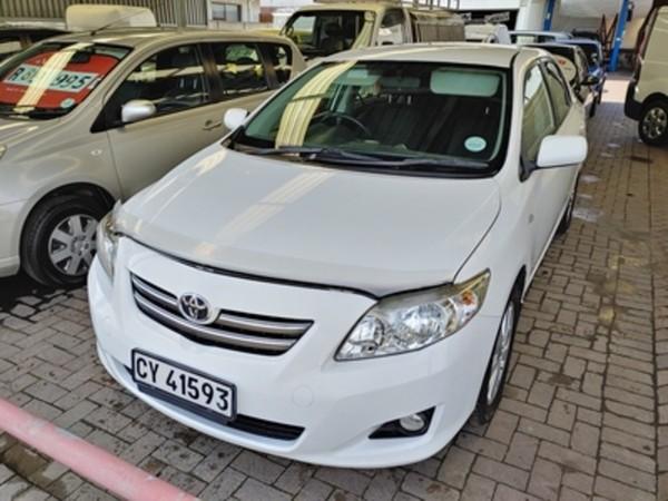 2007 Toyota Corolla 1.8 Advanced  Western Cape Parow_0