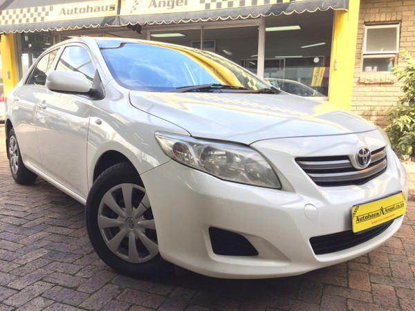 2010 Toyota Corolla 1.3 Professional  Western Cape Bellville_0
