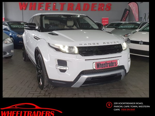 2012 Land Rover Evoque 2.2 Sd4 Dynamic Coupe  Western Cape Parow_0
