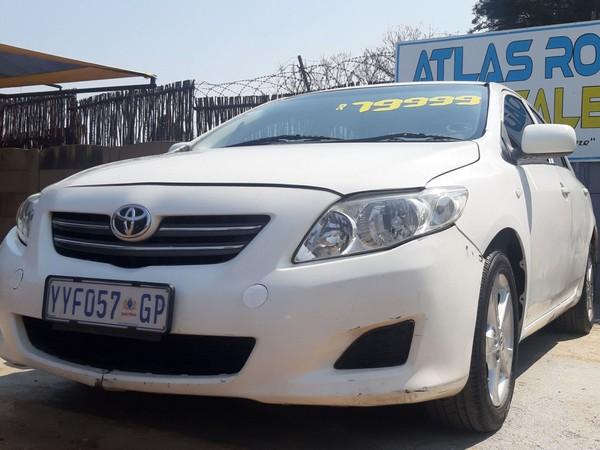 2008 Toyota Corolla 1.4 Professional  Gauteng Benoni_0