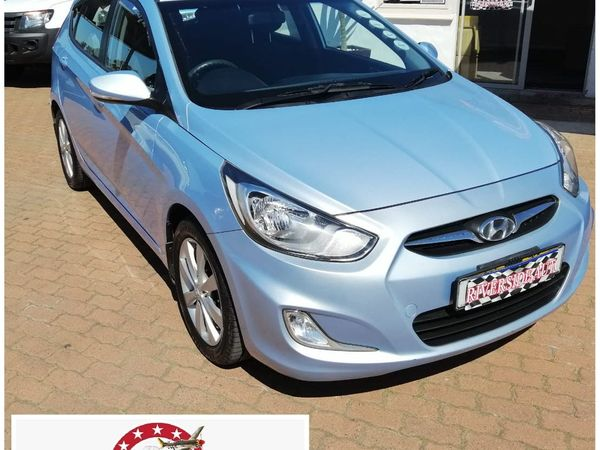 2014 Hyundai Accent 1.6 Fluid 5-Door Auto - Hot Hatchback Western Cape Cape Town_0
