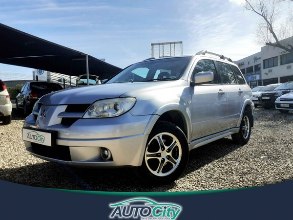 2006 Mitsubishi Outlander 2.4 Gls At  Western Cape Bellville_0